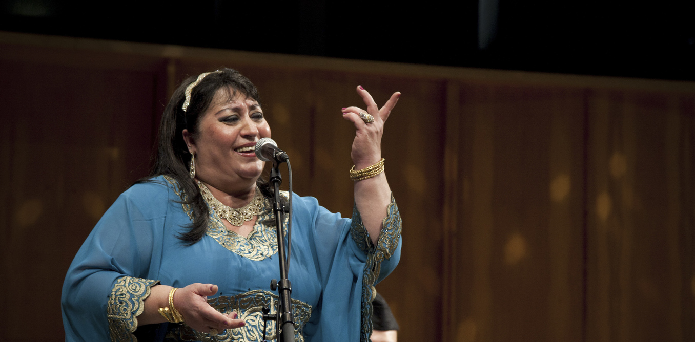 "The Guardian interviews Farida Mohammad Ali, ""the mother of all maqam"""